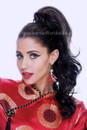 Lexi Ponytail Brown Hair French Kiss Festas Aplique Cabelo Castanho