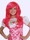 Halloween Costume Strawberry Wig Festas Peruca Moranguinho