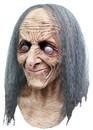 Deluxe Hagatha Latex Mask w/Hair Mascara Bruxa Velha