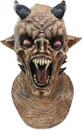 Deluxe Nightmare Latex Devil Mask Mascara Vampiro