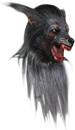 Realistic Black Wolf Theater Mask Mascara Lobisomen