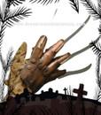 Freddy Krueger Dlx Hand Glove Metal Halloween Horror Luva Mao