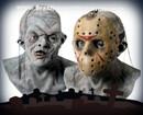 Deluxe Horror Jason Halloween Costume Mask Mascara