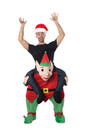 CARRY ME ELF HOLIDAY COSTUME FANTASIA NATAL