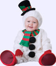 DELUXE SILLY SNOWMAN BABY CHRISTMAS COSTUME
