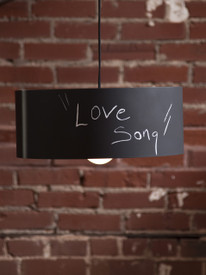 Artist Maker Hand Made Chalkboard Lamp
