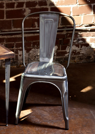 Metal Bistro Chair,Metal Chair,faux tolex chair