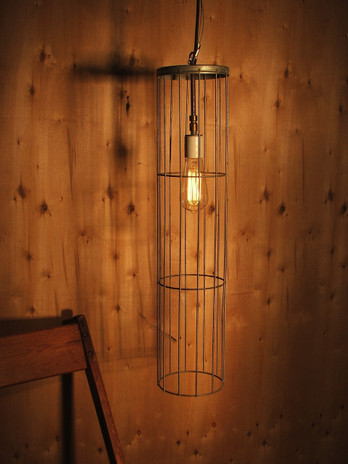 pendant light,wire pendant light,repurposed pendant light