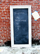 Oversized Recycled Chalkboard