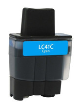 Brother LC-41 (LC41C) Cyan Ink Cartridge (Compatible)