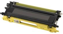 Brother TN-115/TN-110 (TN115Y) High Yield Yellow Laser Toner Cartridge (Remanufactured)