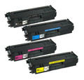 Brother TN315 High Yield Laser Toner Cartridge 4PK - Black, Cyan, Magenta, Yellow (Compatible)