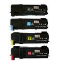Dell 2130/2135 High Yield Laser Toner Cartridge 4PK - Black, Cyan, Magenta, Yellow (Compatible)