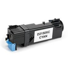 Dell 2150 (331-0716) Cyan Laser Toner Cartridge (Remanufactured)