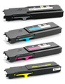 Dell C2660 High Yield Laser Toner Cartridge 4PK - Black, Cyan, Magenta, Yellow (Compatible)