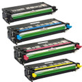 Dell 3110/3115 High Yield Laser Toner Cartridge 4PK - Black, Cyan, Magenta, Yellow (Remanufactured)