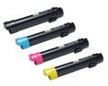 Dell C5765dn Laser Toner Cartridge 4PK - Black, Cyan, Magenta, Yellow (Compatible)