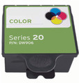 Dell Series 20 (DW906) Tri-Color Ink Cartridge (Compatible)