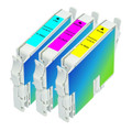 Epson T042 Series Ink Cartridge 3PK - Cyan, Magenta, Yellow (Remanufactured)