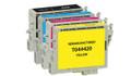 Epson T044 Series Ink Cartridge 4PK - Black, Cyan, Magenta, Yellow (Remanufactured)