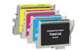 Epson T060 Series Ink Cartridge 4PK - Black, Cyan, Magenta, Yellow (Remanufactured)