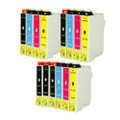 Epson T069 Series Ink Cartridge 14PK - 5 Black, 3 Cyan, 3 Magenta, 3 Yellow (Remanufactured)