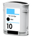 HP #10 (C4844A) Black Ink Cartridge (Remanufactured)