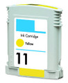 HP #11 (C4838AN) Yellow Ink Cartridge (Remanufactured)