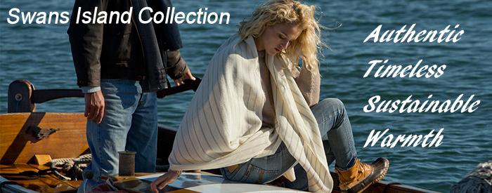 Swans Island Wool Blankets, Throw Blankets, Organic Baby blankets