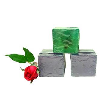 Sparkling Glycerine Soap Cube Trio