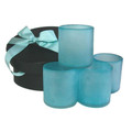 Caribbean Breeze Oversized Tumblers (recycled glass)