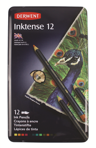 Derwent Inktense Pencils Tin of 12