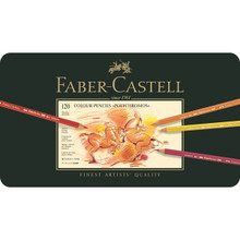 Faber Castell Polychromos Pencil Set - Tin of 120-Special Offer