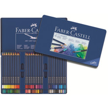 Faber Castell Art Grip Aquarelle Pencil Set - Tin of 60