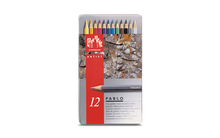 CARAN d'ACHE PABLO® Colouring Pencil Set - Tin of 12