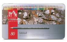CARAN d'ACHE PABLO® Colouring Pencil Set - Tin of 80