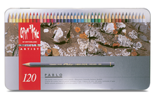 CARAN d'ACHE PABLO® Colouring Pencil Set - Tin of 120