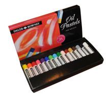 Daler Rowney Artists Oil Pastel - Set of 16