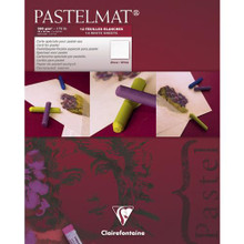 Clairefontaine Pastelmat Pads - White (12 Sheets)