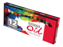 Daler Rowney Graduate Oil Set Of 12 x  22ml Tubes
