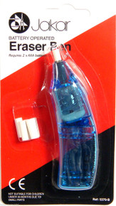 JAKAR BATTERY OPERATED ERASER PEN WITH 5 REFILLS