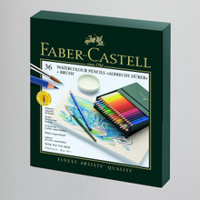 Faber-Castell Albrecht Durer Artists' Watercolor Pencil Gift Box of 36 Colors