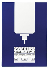 A4 Tracing Paper Pad-112gsm-50 Sheets By GoldLine