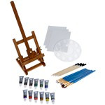 Daler Rowney Simply Acrylic Easel Set