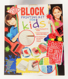 Essdee Block Printing Educational Kit Gift Set For Kids