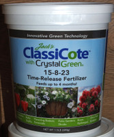 Jack's ClassiCote time-release fertilizer.