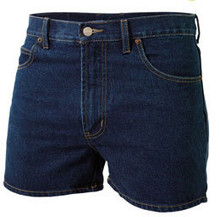 K07020 King Gee Stretch Denim Work Short - Stonewash
