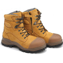 992 Blundstone lace up side zip Xfoot Rubber Sole Akkle Safety Boots