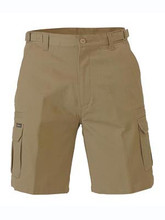 8 POCKET MENS CARGO SHORT  Product Code  BSHC1007  Features  Adjustable side tab on waistband  YKK branded zip front fly  2 angled side pockets  2 side welt pockets  2 side cargo pockets with touch-tape flaps  2 back flat pockets with touch-tape flaps    Fabric  100% Cotton Preshrunk Drill 310gsm