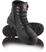 342152 Argyle ZIp: Nitrile/Bump Cap Safety Boot